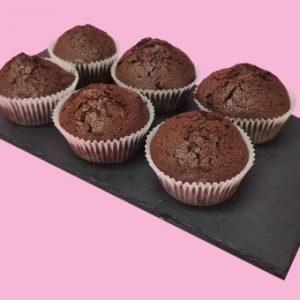 magdalenas de chocolate - El Obrador de Sensibles
