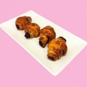 Mini Croissant Sin Gluten de Chocolate - El Obrador de Sensibles Córdoba