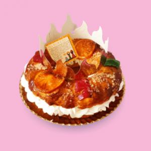 Roscón de Reyes sin gluten - El Obrador de Sensibles