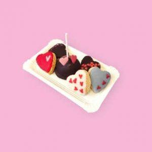 Bandeja de Galletitas de San Valentin