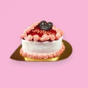 Tarta Frambuesa Sin Gluten Especial San Valentin